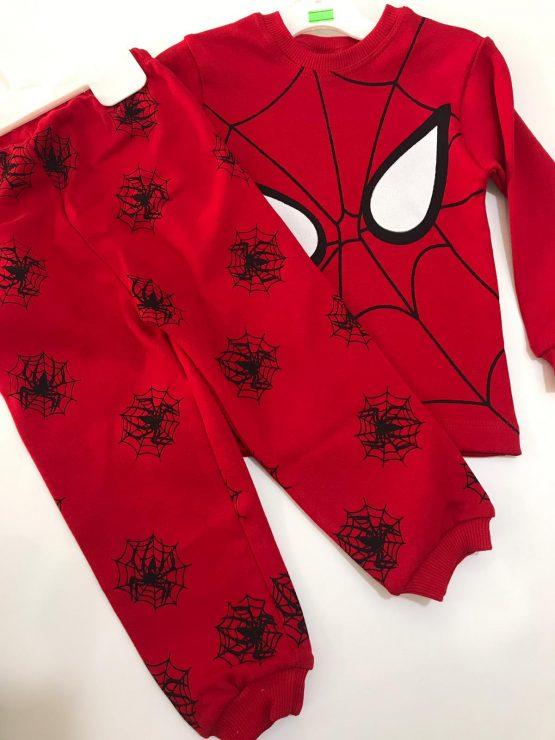 Spiderman Baskılı Pijama Takımı