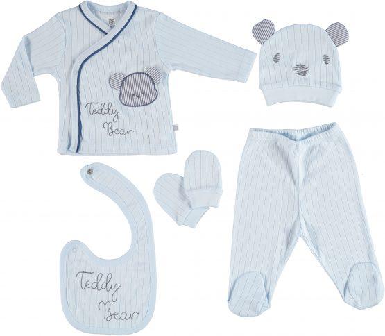 Bibaby Teddy Bear Set 5'li Hastane Çıkışı
