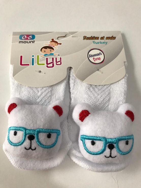 Aksesuarlı Çorap